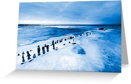 frozen lake by Enjoylife