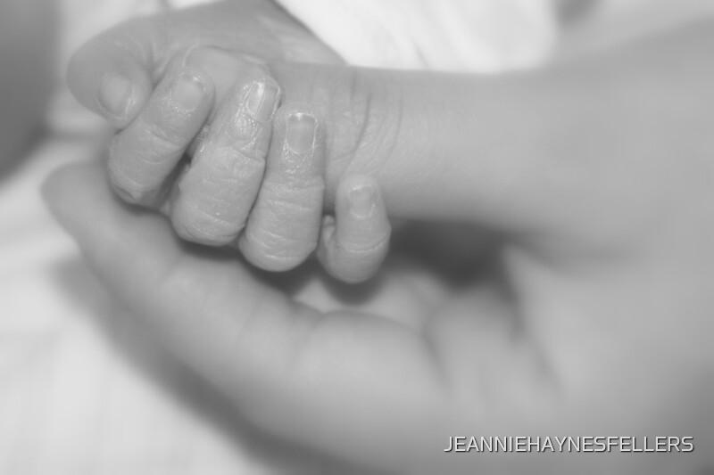 Take my hand by JEANNIEHAYNESFELLERS