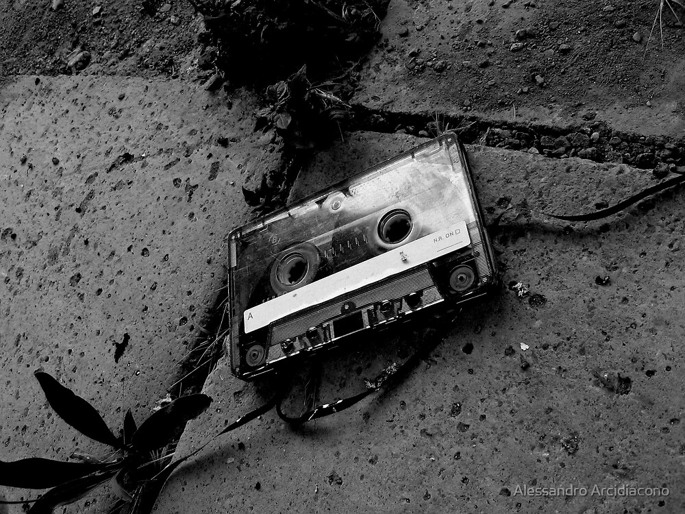 The lost tape by Alessandro Arcidiacono