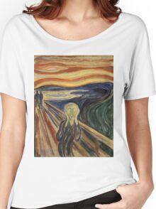 Edvard Munch - The Scream Women's Relaxed Fit T-Shirt