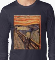 Edvard Munch - The Scream 1893 Long Sleeve T-Shirt