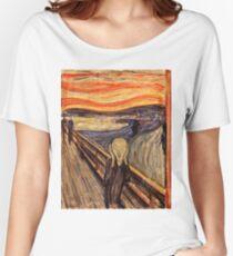 Edvard Munch - The Scream 1893 Women's Relaxed Fit T-Shirt