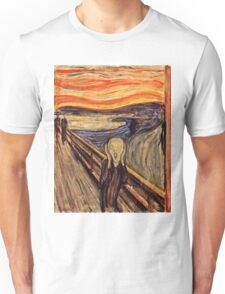Edvard Munch - The Scream 1893 Unisex T-Shirt