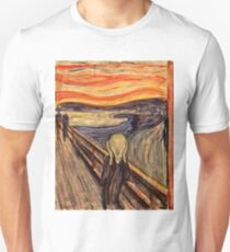 Edvard Munch - The Scream 1893 Unisex T-Shirt