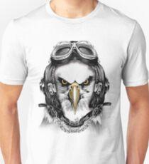 Air force pilot white eagle  Unisex T-Shirt