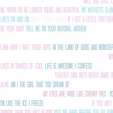 Lana Del Rey Lyrics Overload de TellAVision