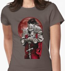 Dungeons, Dragons and Death Womens Fitted T-Shirt