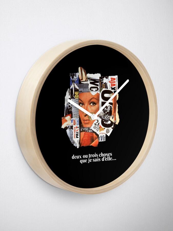 Alternate view of 2 ou 3 choses Clock