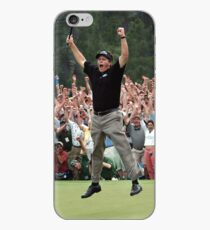 Phil Mickelson's 18th Hole Birdie Putt at Augusta for the Master's Win iPhone Case