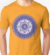 Blue and White Mandala  Unisex T-Shirt