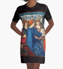 Edward Burne Jones - Laus Veneris1873 - 1875 Graphic T-Shirt Dress