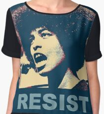 Angela -RESIST Women's Chiffon Top