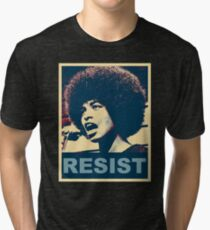 Angela -RESIST Tri-blend T-Shirt