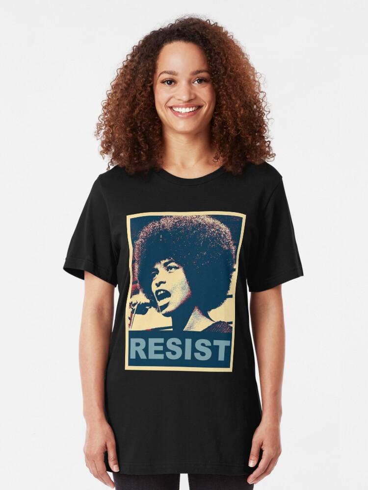Alternative Ansicht von Angela -RESIST Slim Fit T-Shirt