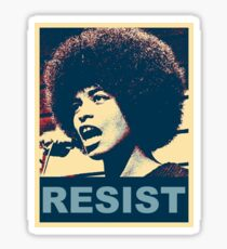 Angela -RESIST Sticker