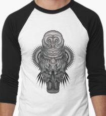 Geo Owl Men's Baseball ¾ T-Shirt