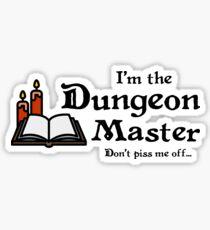 I'm the Dungeon Master Sticker