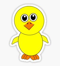 Easter Chick Sticker