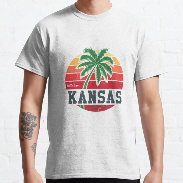 Hello from Kansas Classic T-Shirt