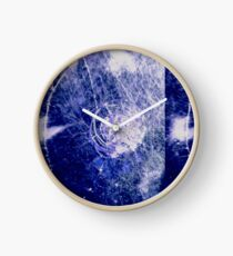 broken glass clock Clock