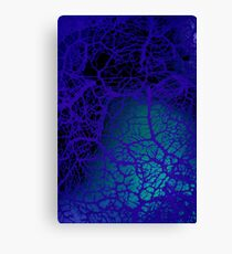 blue nerves Canvas Print