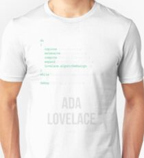 ADA LOVELACE (Light Lettering) - Clothing & Other Products T-Shirt