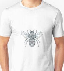 Bumble Bee Mandala Tattoo Unisex T-Shirt