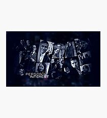 PERSON OF INTEREST (CAST) Photographic Print