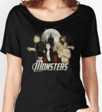 Monsters Assemble Women's Relaxed Fit T-Shirt