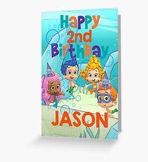 Custom Birthday Order Greeting Card