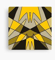 'Pincer' Abstract Artwork Design Canvas Print