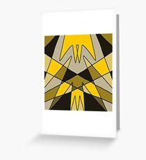 'Pincer' Abstract Artwork Design Greeting Card