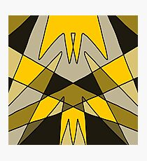 'Pincer' Abstract Artwork Design Photographic Print