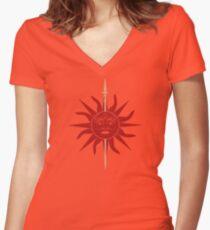 House Martell Women's Fitted V-Neck T-Shirt