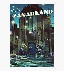 Zanarkand [FFX] Vintage Travel Poster Photographic Print