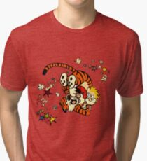 Horseplay - Calvin and Hobbes Tri-blend T-Shirt