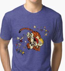 Horseplay - Calvin and Hobbes Tri-blend T-Shirt