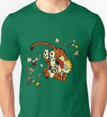 Horseplay - Calvin and Hobbes Unisex T-Shirt