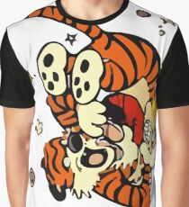 Horseplay - Calvin and Hobbes Graphic T-Shirt