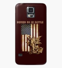 St Michael Defend US in Battle Case/Skin for Samsung Galaxy
