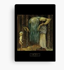 John Bauer's Scandinavian Fairies, Gnomes and Trolls Canvas Print