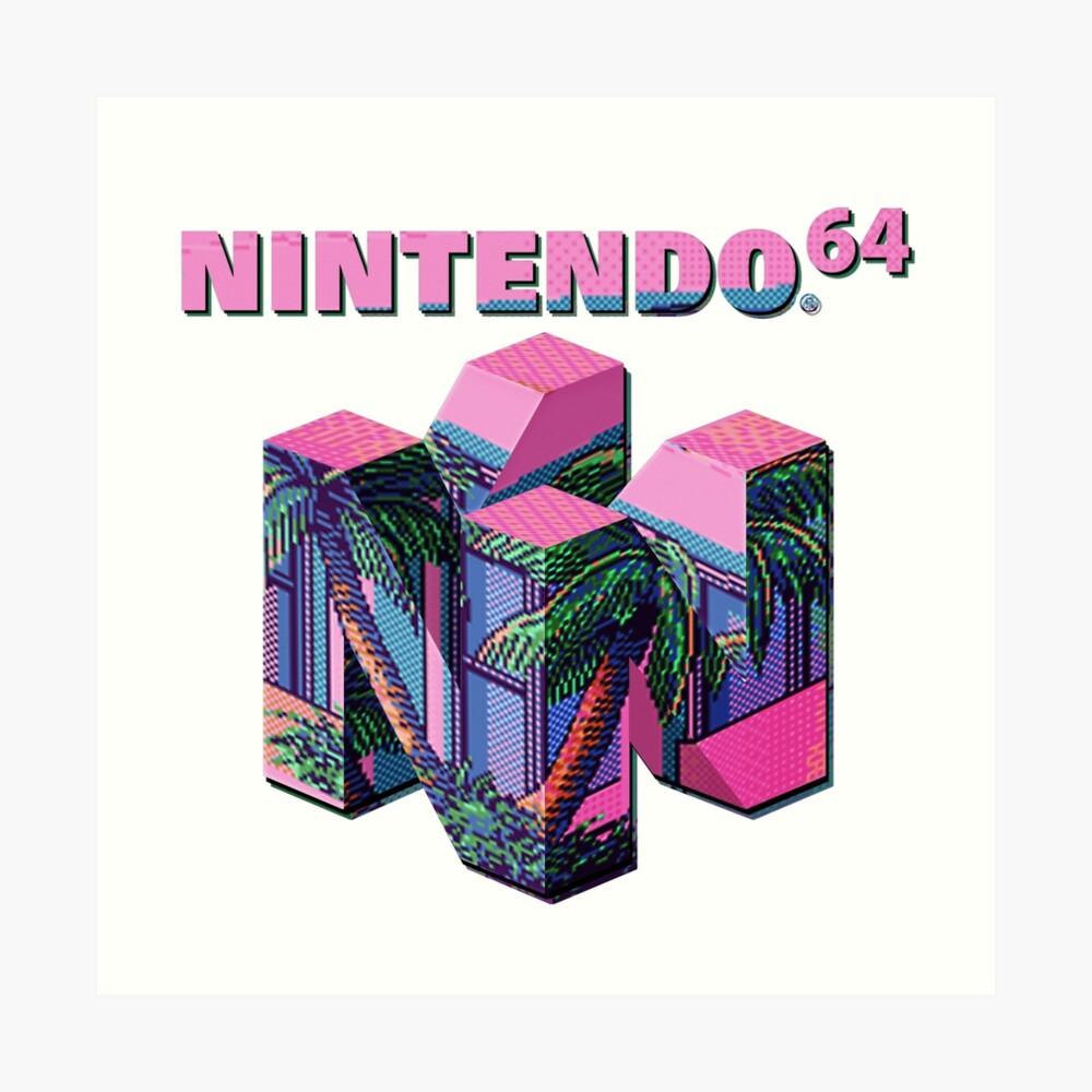 Nintendo 64 Aesthetic Art Print