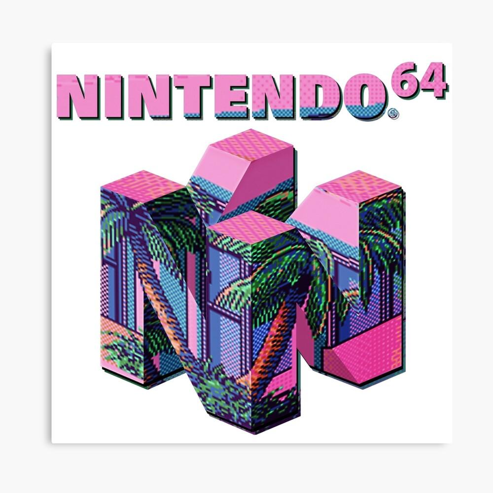 Nintendo 64 Aesthetic Canvas Print