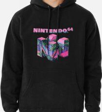 Nintendo 64 Ästhetik Hoodie