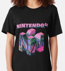 Nintendo 64 Aesthetic Slim Fit T-Shirt