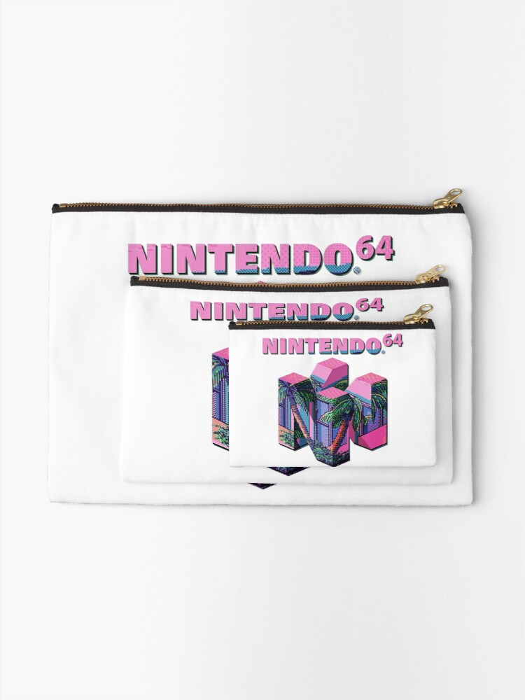 Alternate view of Nintendo 64 Aesthetic Zipper Pouch