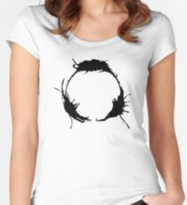 """Heptapod B (Translation: """"TIME"""" [Nonlinear]) Women's Fitted Scoop T-Shirt"""