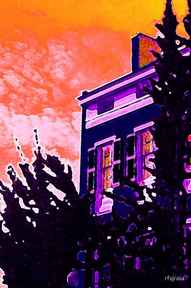 blue house by rfsjraia
