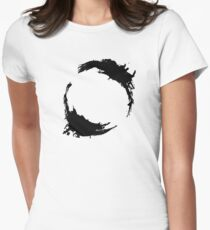 """Heptapod B (Translation: """"EARTH"""") Womens Fitted T-Shirt"""