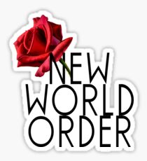 NEW WORLD ORDER RELEASE 1 Sticker